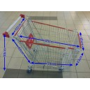 Trolley Supermarket 180 Liter